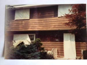 Before: Aluminum Siding