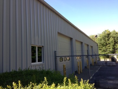 Commercial Metal Building Painted